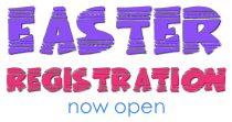 Easter 2017 Registration Now Open